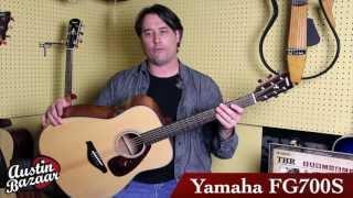 yamaha fg700s acoustic guitar demo   carl tosten