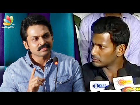Watch Theeran On TAMILROCKERS But : Karthi Speech | Vishal | Theeran Adhigaram Ondru Movie