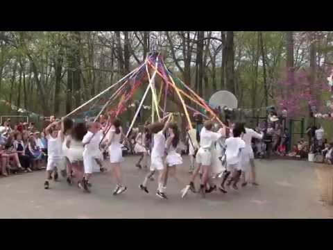 Maypole Dance - The School in Rose Valley