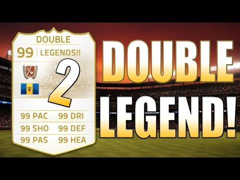 OMFG 2 LEGENDS!!! - FIFA Ultimate Team
