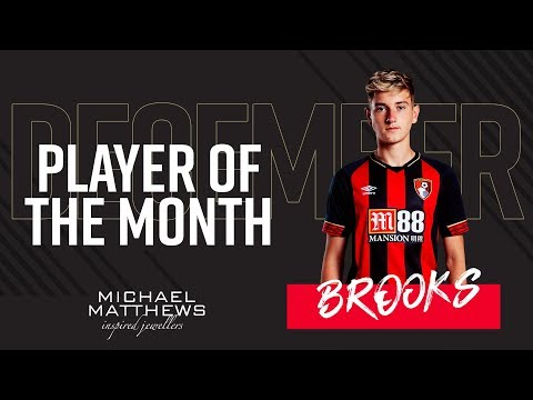 BROOKS WINS DECEMBER AWARD 🏆 | Player of the Month