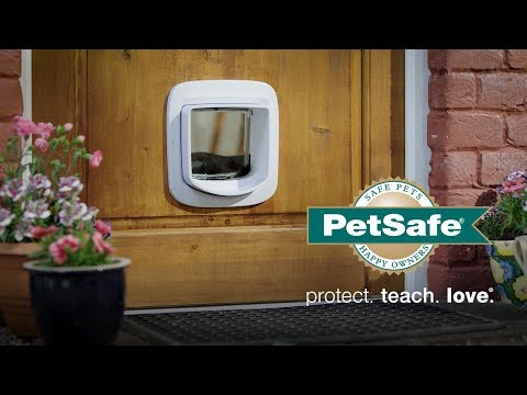 Give Your Cat Freedom - PetSafe® Microchip Cat Flap