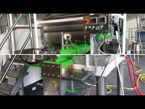 Press and cooker - tagliatelle production line | industrial pasta machines | SARP