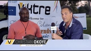 Colangelo Golf Classic 2016 - Interview w/ Christian Okoye - VIKTRE