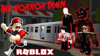 ROBLOX | Chuyến Xe Lửa Kinh Dị Toàn Quái Nhân | The Horror Train | Vamy Trần