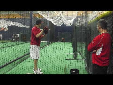 Michael Rucker RHP 2012, 16 YO pitching lesson