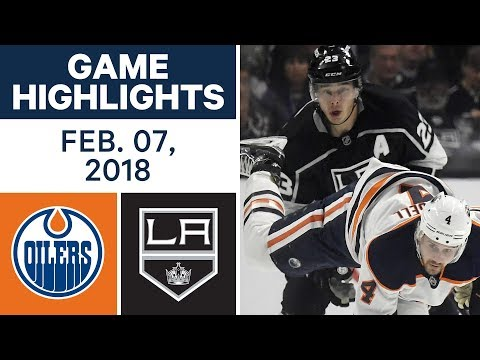 NHL Game Highlights | Oilers vs. Kings - Feb. 7, 2018