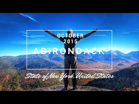 HIKING IN THE ADIRONDACKS - A beautiful weekend in the United States