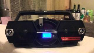 Boombox MP3 Bluetooth магнитола EPE FP 1331RCBT