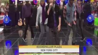 Justin Bieber One Time Live TODAY SHOW
