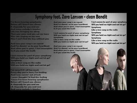 Clean Bandit - Symphony feat. Zara Larsson lirik Lagu