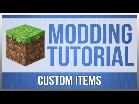 Minecraft 1.9: Modding Tutorial - Custom Items (#3)