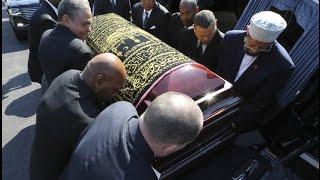 جنازة محمد علي كلاي اضخم جنازة في التاريخ لرجل مسلم