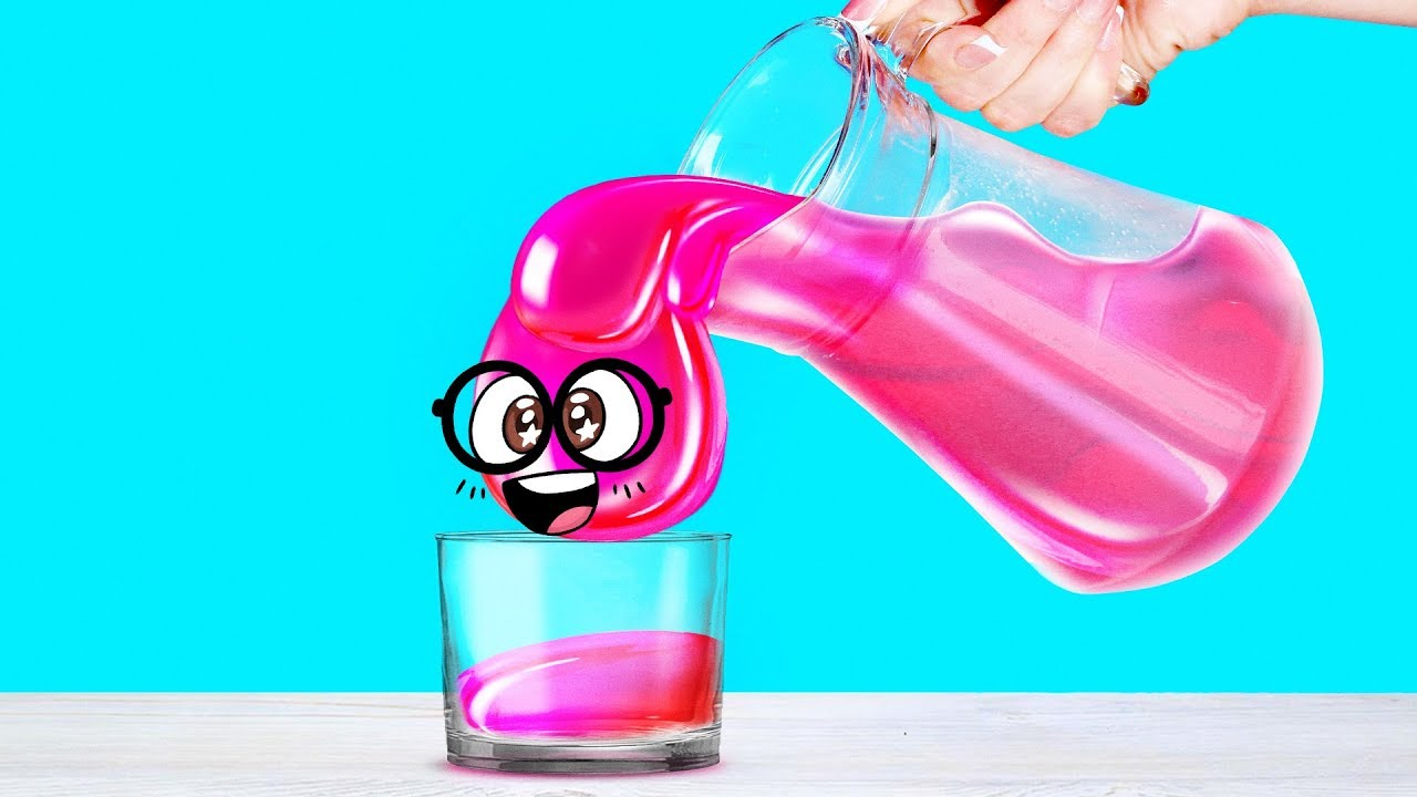 Download 7 ASTONISHING LIQUID CRAFTS with Slime Sam - Pour, Spill, Play!