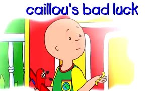 Caillou Full Episodes | Caillou's Bad Luck | Cartoon Movie | WATCH ONLINE | Cartoons for Kids