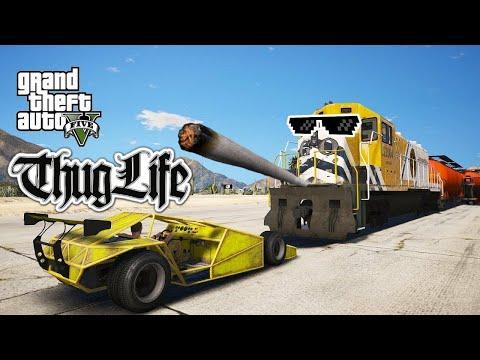 GTA 5 Thug Life TOP 100 - Баги, Приколы, Фейлы, Трюки, Эпичные Моменты