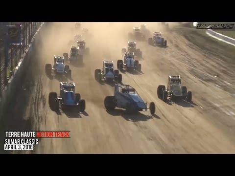 Highlights: USAC Silver Crown Series at Terre Haute - April 3, 2016