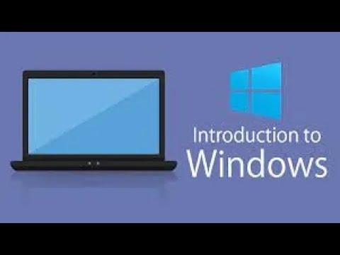 माइक्रोसॉफ्ट विंडोज का परिचय - (हिंदी) Introduction to Microsoft Windows