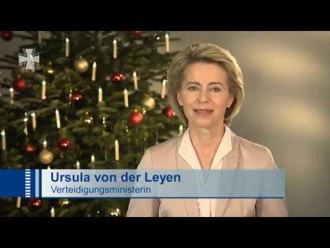 Weihnachtsansprache 2016 Bundesministerin der Verteidigung Ursula Gertrud von der Leyen