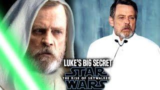 The Rise Of Skywalker Luke's Big Secret Revealed! (Star Wars Episode 9)