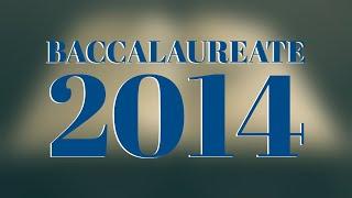 Elim Bible Institute Baccalaureate 2014 - Full Service