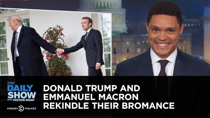 Trump Meets French President Macron Youtube