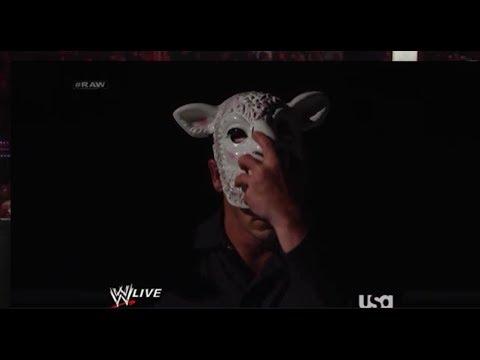 WWE Raw 3/31/14 Bray Wyatt vs Rtruth With...