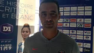Olivier Echouafni après Soyaux - PSG