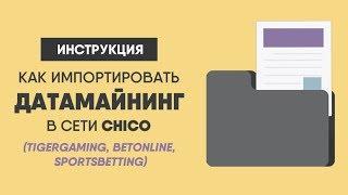 Как загружать майнинг в сети Chico | TigerGaming, BetOnline, SportsBetting