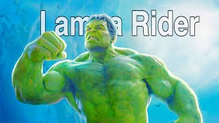 Hulk | I am a Rider | Satisfya | (4K Video)  Bruce Banner | Marvel Hindi Mushup