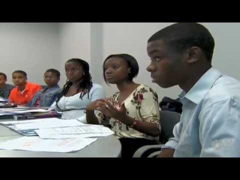 W.E.B. DuBois Scholars Institute on CNN