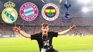 VIP FC Bayern & Real Madrid Stadionvlog | Direkt am Rasen | ViscaBarca