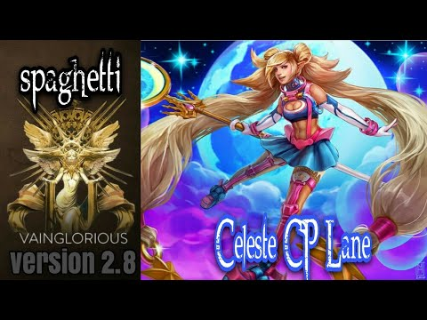 spaghetti | Celeste CP Lane - Vainglory hero gameplay from a pro player