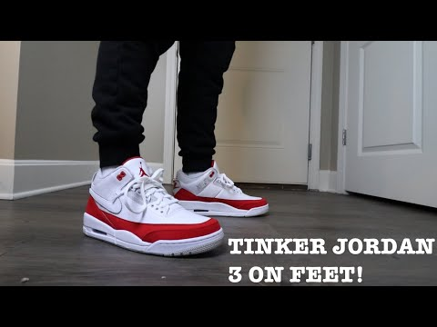 check out 38b7d 60a9f REVIEW AND ON FEET OF THE TINKER JORDAN 3