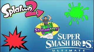 *LIVE* PLAYING SPLATOON 2 AND SUPER SMASH BROS ULTIMATE WITH VIEWERS!!