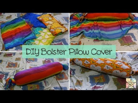 DIY Bolster Pillow Cover Bethabara YouTube Beauteous How To Sew A Bolster Pillow Cover
