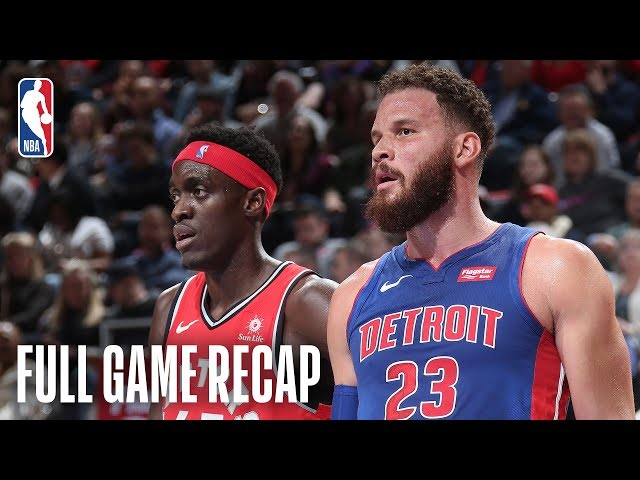 RAPTORS vs PISTONS | Toronto & Detroit Go Down To The Wire In Overtime | March 3, 2019