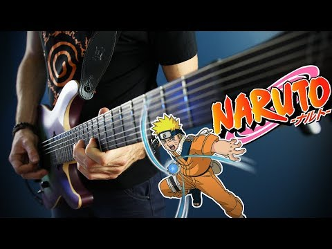 NARUTO - The Raising Fighting Spirit 🎸 Metal Cover By Alex Luss