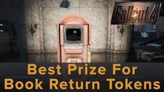 Fallout 4 The Best Prize for Book Return Tokens