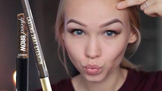 видео Средства и наборы для макияжа бровей