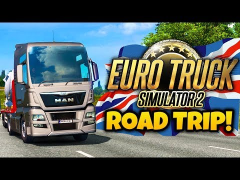 THE ULTIMATE ENGLISH ROAD TRIP! - Euro Truck Simulator 2