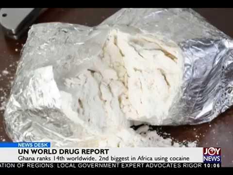 UN World Drug Report - News Desk on Joy News (20-10-17)
