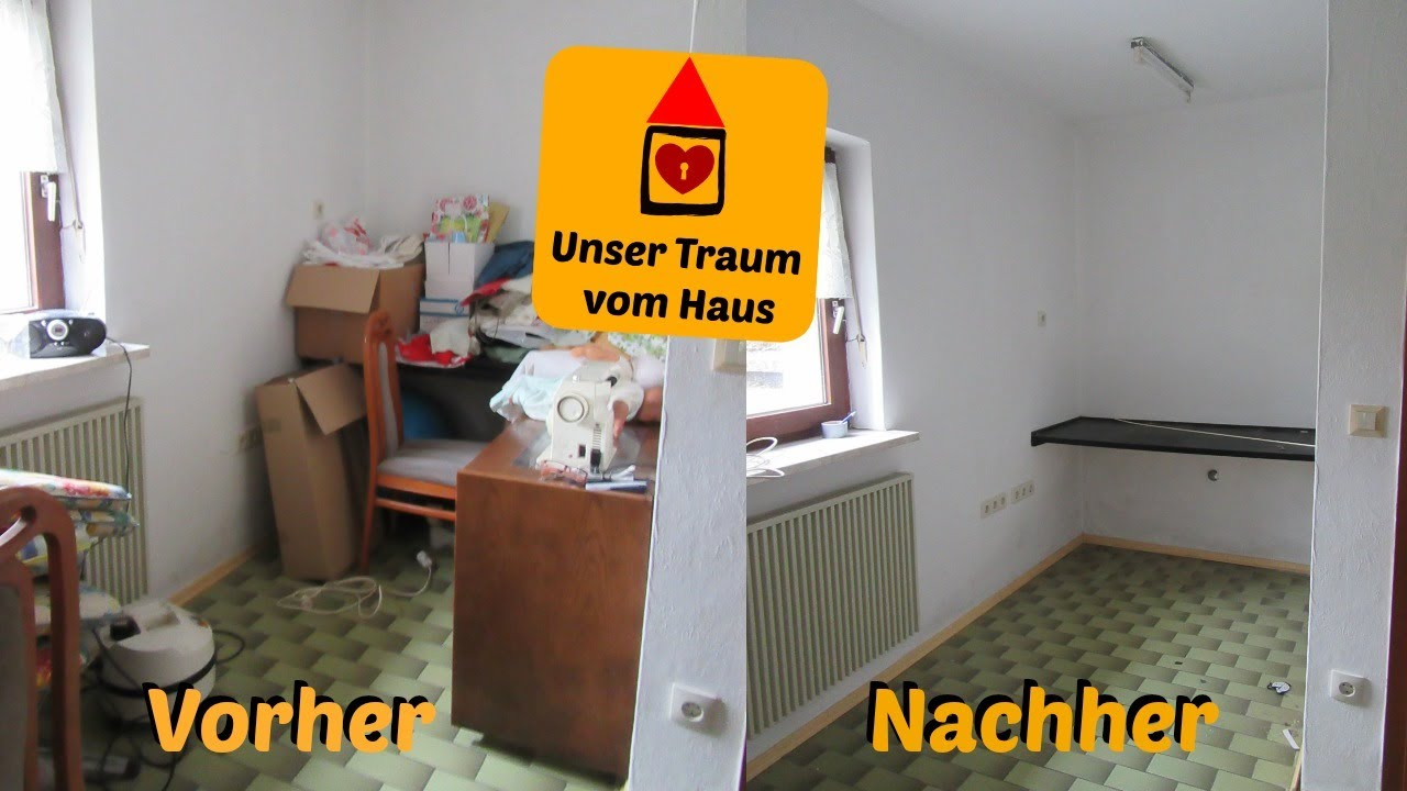 wir entr mpeln unser haus vorher nachher annikaslife youtube. Black Bedroom Furniture Sets. Home Design Ideas