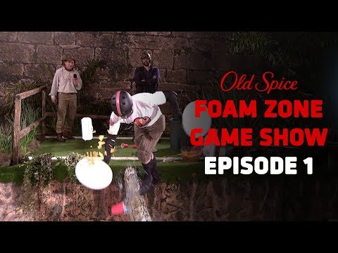 The Old Spice Foam Zone Ep 1: The Beginning of the End of The Beginning | Old Spice
