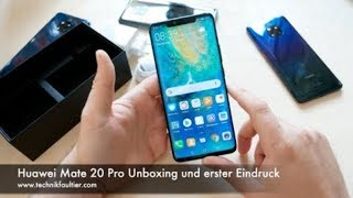 Huawei Mate 20 Pro Unboxing & Overview || A True Flagship?!