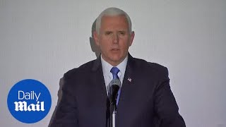 Mike Pence says U.S. is sending more aid to neighbors of Venezuela