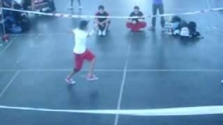 bboy Angel y Caz  VS bboy New RREI y Wali (final)
