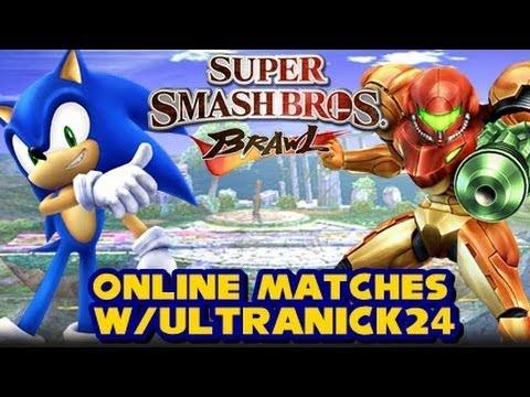 Super Smash Bros Brawl - Online Matches w/Ultranick24