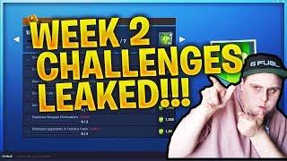 WEEK 2 CHALLENGES LEAKED SEASON 7 FORTNITE