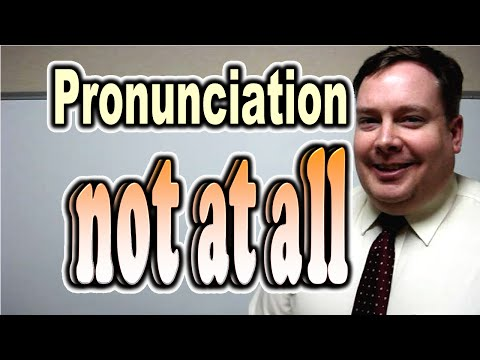 "How to Pronounce ""not at all"" [ ForB English Lesson ]"